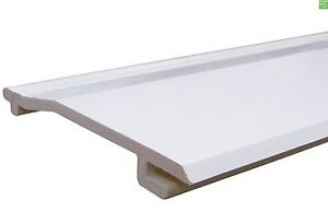 150mm x 2.5Mtr uPVC Shiplap Cladding Board **White**