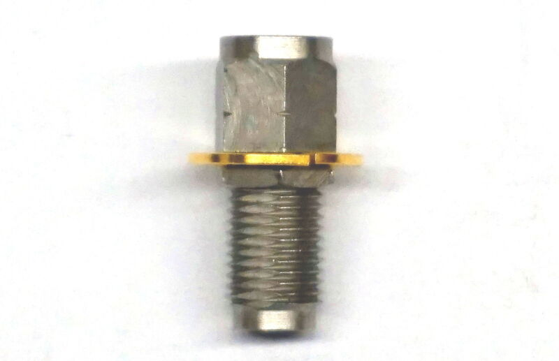 Agilent 2.4mm Female/female Front Panel Connector As Shown