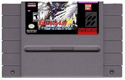 Gundam Wing Endless Duel (Mobile Suit) English Translated SNES Super Nintendo comprar usado  Enviando para Brazil