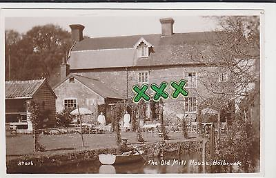 PHOTO POSTCARD ; THE OLD MILL HOUSE, HOLBROOK ( IPSWICH ).