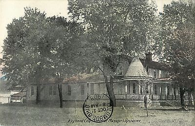 A View Of The Raymond City General Managers Office  Ohio Oh 1908