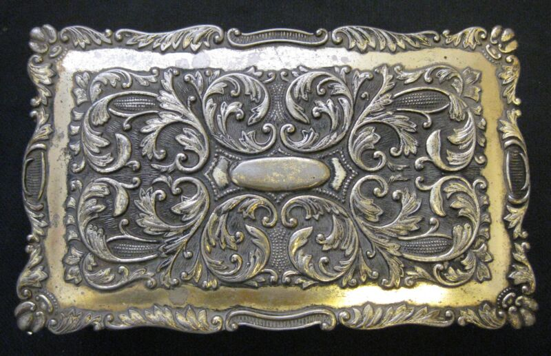 ANTIQUE CHINESE JEWELRY BRONZE BOX GILT SILVER,  EARLY 20TH CENTURY