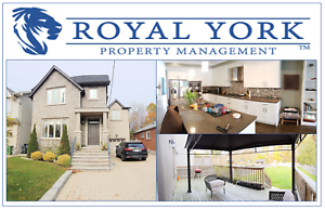 CUSTOM BUILT 4+1/3.5 BATH HOME FOR RENT @ TORONTO