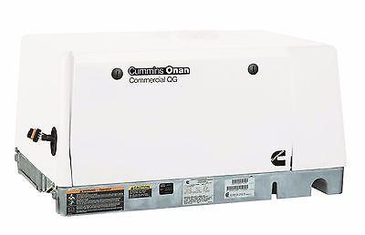 New Cummins Onan Commercial Generator Qg 6500 6.5hgjae2145 - Lp Vapor 120240v