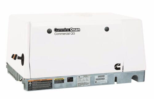NEW Cummins Onan Commercial Generator QG 6500 6.5HGJAE/2145 - LP Vapor 120/240V