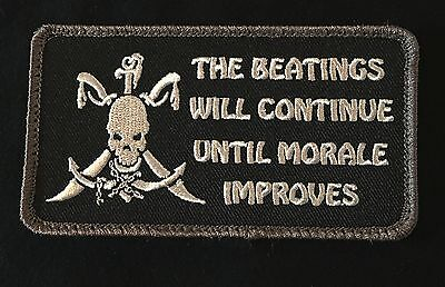 BEATINGS WILL CONTINUE UNTIL IMPROVES PIRATE SWAT HOOK PATCH