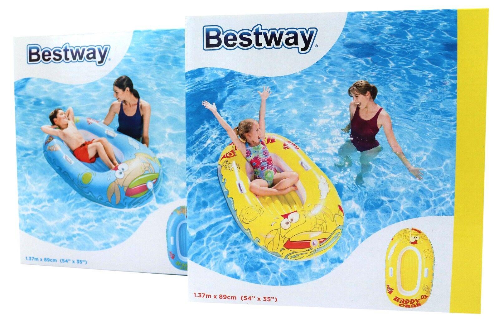 Bestway Juniorboot Aufblasbar Luftboot Boot Bade Spass… | 06942138930368
