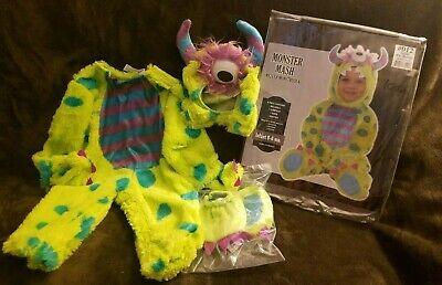 Little Monster Infant Halloween Costume (Little Monster Mash Infant Halloween costume Size 0 - 6 months Super)
