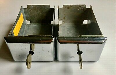 2 Esd Coin Boxes C-20205 6 Dexter Speed Queen Washerdryer Keys Pre-owned