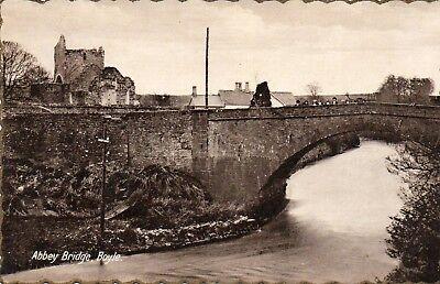 ABBEY BRIDGE BOYLE ROSCOMMON IRELAND MILTON IRISH POSTCARD