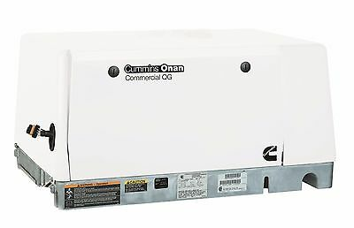New Cummins Onan Commercial Generator Qg 7000 Efi 7.0hgjae2139 Gas 120v Only