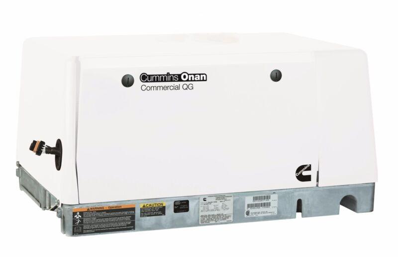 NEW Cummins Onan Commercial Generator QG 5500 5.5HGJAE-2136 Gas 120/240V 3 Phase