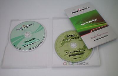 Artcut 2009 Pro Software For Sign Vinyl Plotter Cutter Cutting Plotter 9 Lang...