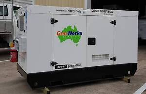 Diesel Generator 30kVA 415V in Canopy Raceview Ipswich City Preview