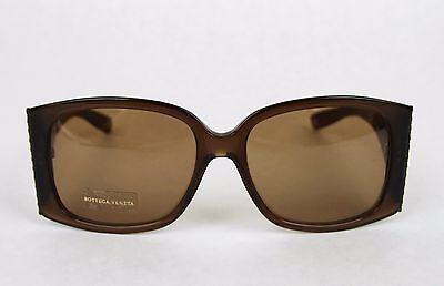 New Bottega Veneta Medium Brown Square Acetate Sunglasses w/Box 240701 -