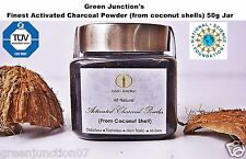★Green Junction's Finest Activated Charcoal Powder(from coconut shells) 50g Jar★