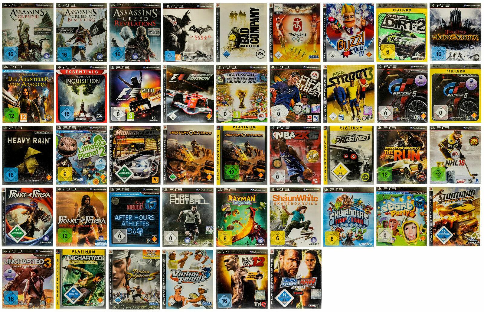 PS3 Spiele Playstation 3 - USK 0-16 Sehr Guter Zustand