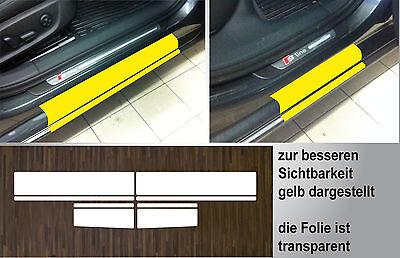 Lackschutzfolie transparent Einstiege Türen für Audi A6 (C7) Limo/Avant, ab 2010