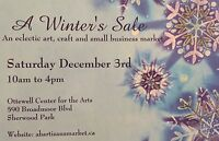 A Winter's Sale Art and Craft Market