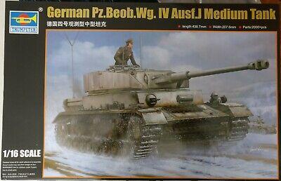 Trumpeter 00922 German Pz.Beob.Wg. IV Ausf.J Medium Tank 1:16 Bausatz OVP