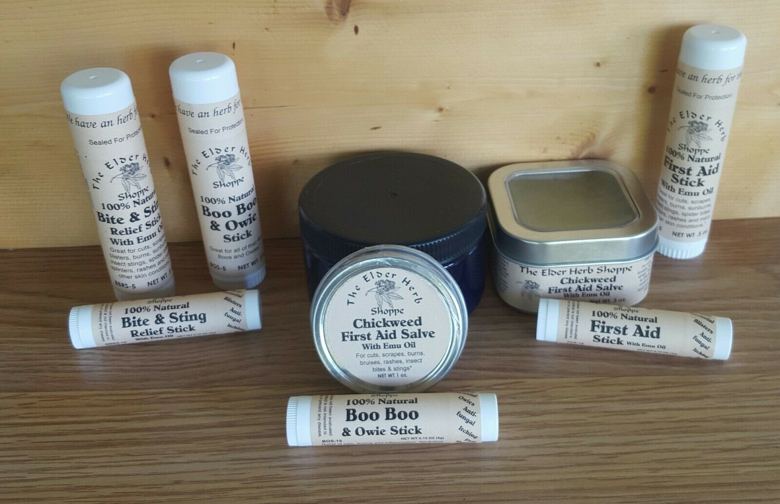 chickweed first aid salve w emu oil
