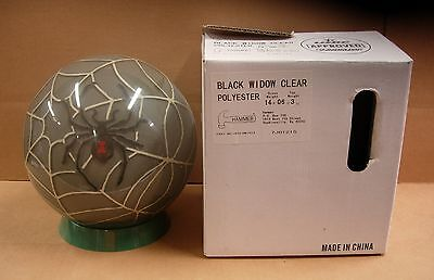 14 6oz, Tw 3.0 Hammer 2007 Black Widow Clear Bowling Ball Never Drilled