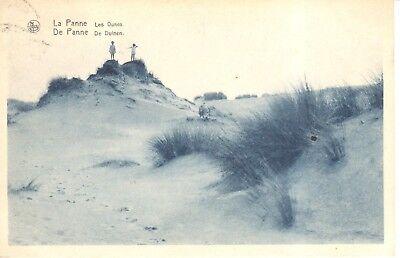 Carte Postale - De panne - La Panne - Les Dunes