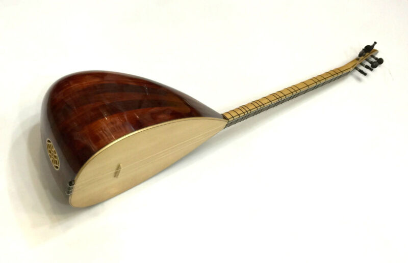 TURKISH PROFESSIONAL LONG NECK JUNIPER BAGLAMA SAZ FOR SALE