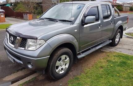 2011 Nissan Navara Ute ST turbo Diesel,Excellent condition!LOW ks Hobsons Bay Area Preview