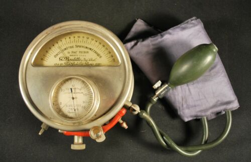 ANTIQUE 1911 MEDICAL / DR. PACHONS SPHYGMO-OSCILLOMETER / Blood Pressure Measure