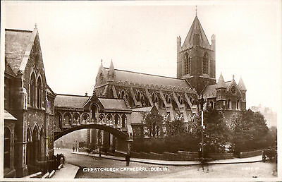 Dublin. Christchurch Cathedral # ? 51906 by Valentine's.