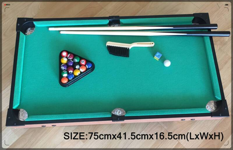 Mini Pool Table Set For Kids Portable Indoor And Outdoor Table - Mini pool table size