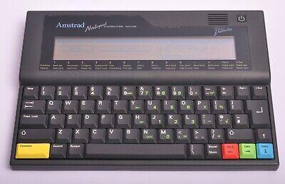 Vintage Amstrad Notepad Computer NC100