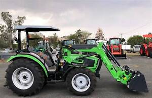 85Hp Deutz ROPS Tractor and 4in1 Loader Beaudesert Ipswich South Preview
