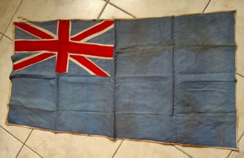 WW2 british navy flag ? war relic rare
