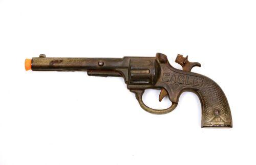 Vintage Stevens Eagle Toy Cap Gun Cast Iron
