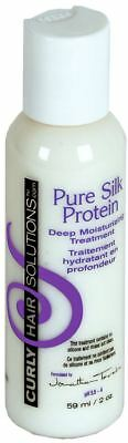 Curly Hair Solutions - Curly Hair Solutions Pure Silk Protein Conditioner Travel Size 2 oz