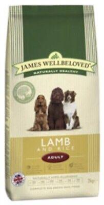 James Wellbeloved Lamb And Rice Adult 2kg  Bag ( Complete Dog Food)