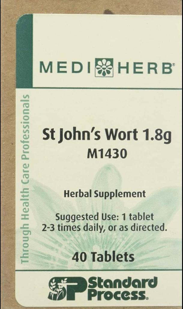 Standard Process MediHerb St John's Wort M1430