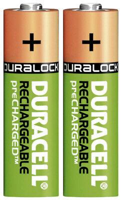2x Duracell Power Akkus Accus AA Mignon 2500 mAh f. Philips HX6942 HX6952 HX6971