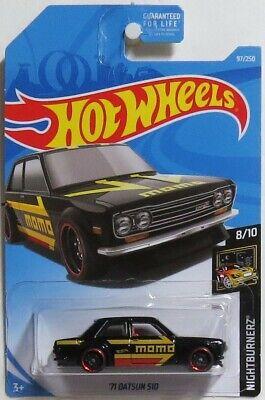 Hot Wheels 2019 '71 Datsun 510 Kmart Exclusive