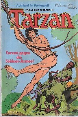 Comic - Tarzan Heft Nr. 11 von 1983 - Ehapa Verlag deutsch