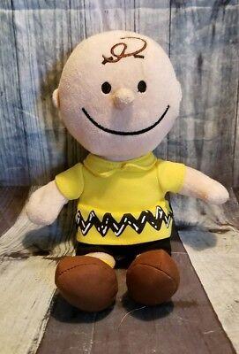 "Just Play 2015 Peanuts Charlie Brown 9"" Bean Bag Plush P7"