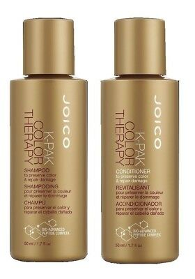 JOICO K-PAK Color Therapy Shampoo and / & Conditioner DUO 1.7 oz. EACH - NEW!