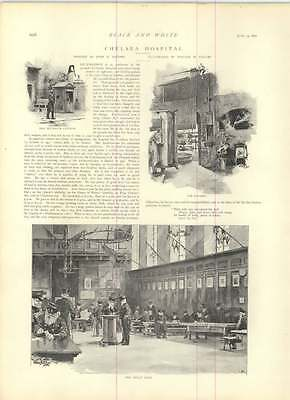 1891 Chelsea Hospital Kitchen Great Hall