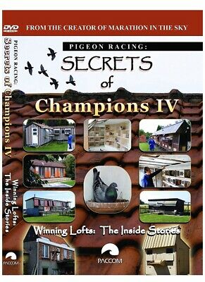 Secrets Of Champions IV Dvd Racing Pigeon Dvd
