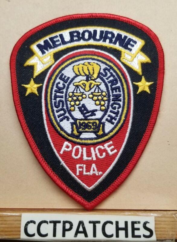 MELBOURNE, FLORIDA POLICE SHOULDER PATCH FL