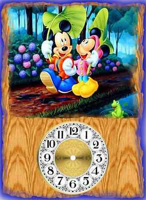 Walt Disney Mickey And Minnie Mouse Wall Clock They Make Great Gifts