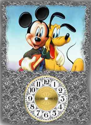 Walt Disney Mickey Mouse And Pluto Wall Clock Makes Great Gifts