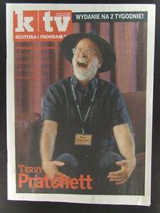 TERRY PRATCHETT mag.FRONT cover Poland Nando Paone - <span itemprop=availableAtOrFrom>europe, Polska</span> - Zwroty są przyjmowane - europe, Polska
